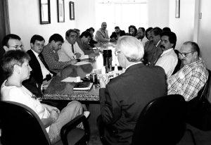 Reunião dos Partidos de oposição aos Governos Brito e FHC (PDT - PSB - PT - PCdoB - PPS) - Sede do Diretório Estadual do PDT - 09 de Abril de 1997
