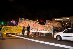 Manifestação dos Estudantes da FAPA - FAPA - Porto Alegre/RS
